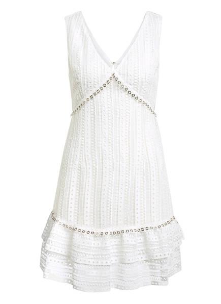 GUESS Kleid LEANDRA mit Lochstickerei, Farbe: WEISS (Bild 1)