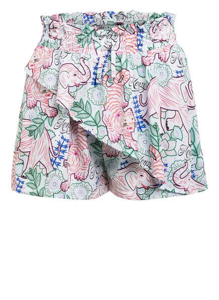 KENZO Shorts, Farbe: WEISS/ GRÜN/ BLAU (Bild 1)