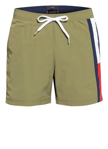 TOMMY HILFIGER Badeshorts , Farbe: OLIV (Bild 1)