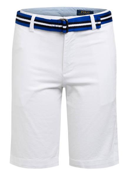 POLO RALPH LAUREN Chino-Shorts Slim Fit, Farbe: WEISS (Bild 1)