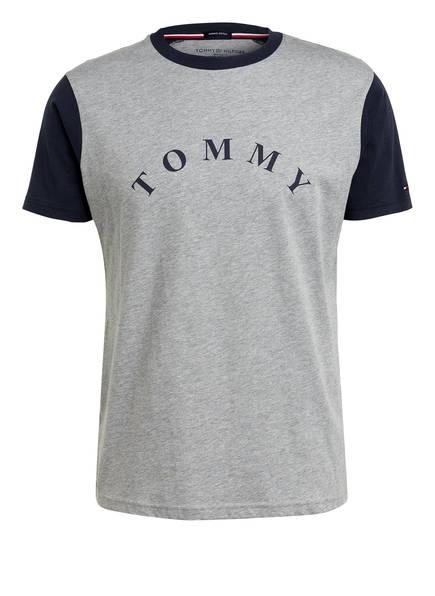 TOMMY HILFIGER Lounge-Shirt, Farbe: HELLGRAU MELIERT (Bild 1)
