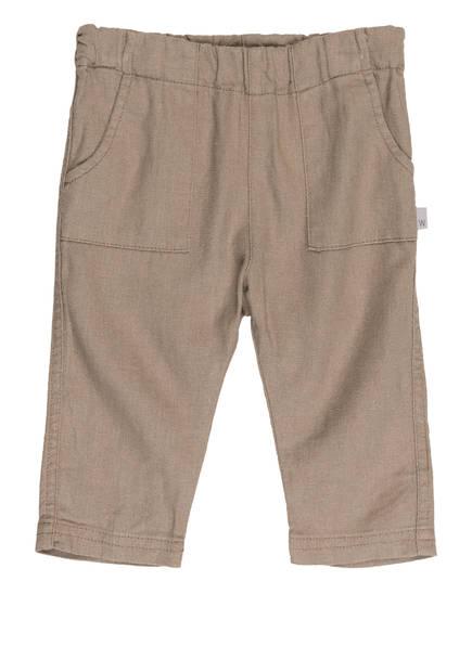 WHEAT Hose mit Leinen, Farbe: HELLBRAUN (Bild 1)