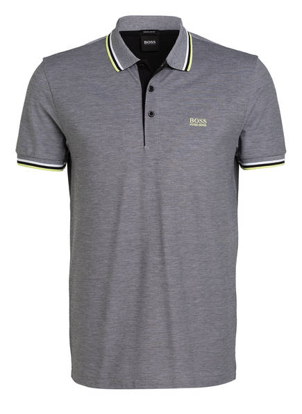 BOSS Piqué-Poloshirt PADDY Regular Fit, Farbe: HELLGRAU/ SCHWARZ (Bild 1)