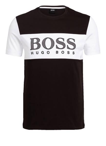 BOSS T-Shirt TEE 6, Farbe: SCHWARZ/ WEISS (Bild 1)