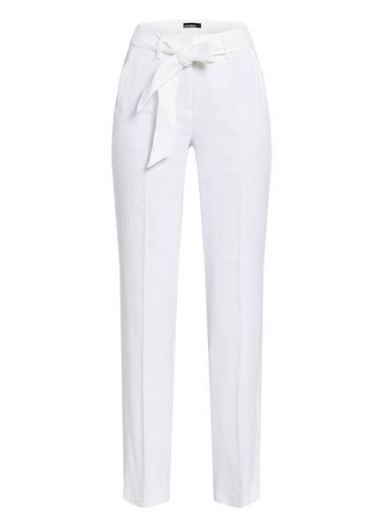 CAMBIO Hose mit Leinen, Farbe: WEISS (Bild 1)