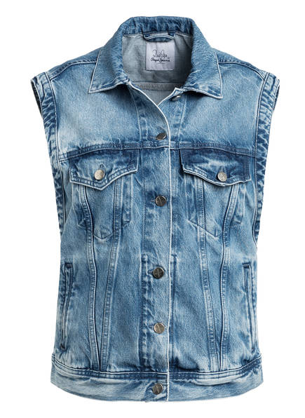 Pepe Jeans Jeansweste WINONA, Farbe: BLAU (Bild 1)