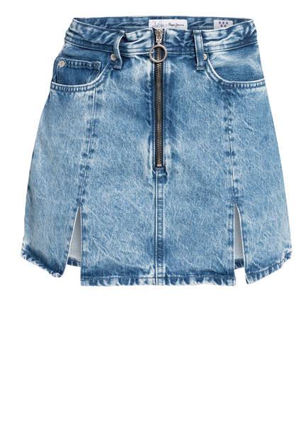 Pepe Jeans Jeansrock blau