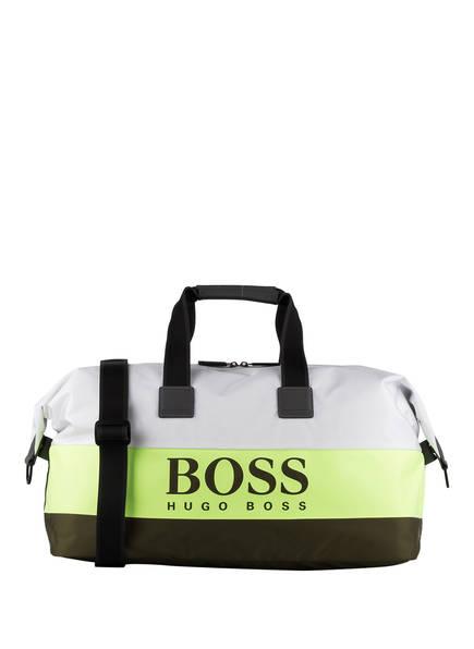 BOSS Reisetasche PIXEL, Farbe: WEISS/ HELLGRÜN/ OLIV (Bild 1)