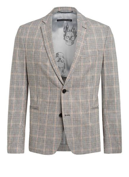 DRYKORN Kombi-Sakko HURLEY Extra Slim Fit, Farbe: 1700 HELLGRAU/ SCHWARZ/ BRAUN (Bild 1)