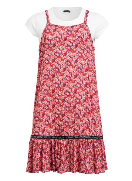 IKKS Set: T-Shirt und Kleid , Farbe: WEISS/ PINK (Bild 1)