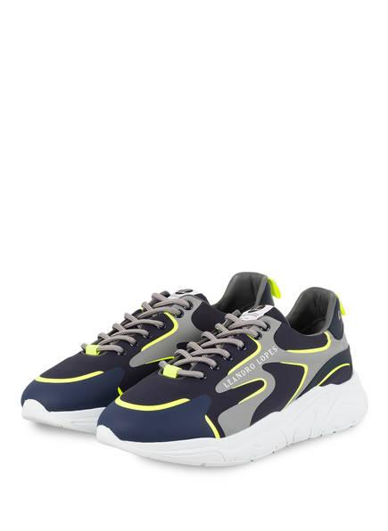 LEANDRO LOPES Sneaker CRAFTER 2.0, Farbe: DUNKELBLAU/ GRAU (Bild 1)