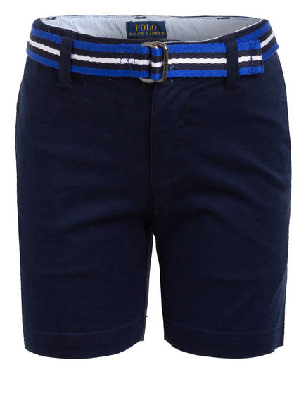 POLO RALPH LAUREN Chino-Shorts Slim Fit, Farbe: DUNKELBLAU (Bild 1)