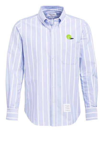 THOM BROWNE. Hemd Comfort Fit, Farbe: HELLBLAU/ WEISS (Bild 1)