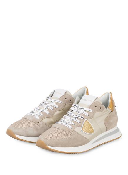 PHILIPPE MODEL Plateau-Sneaker TRPX, Farbe: BEIGE (Bild 1)