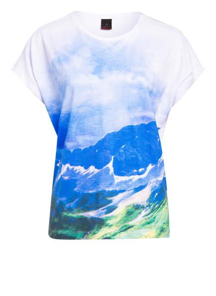 FIRE+ICE T-Shirt NALU , Farbe: WEISS/ BLAU/ GRÜN (Bild 1)