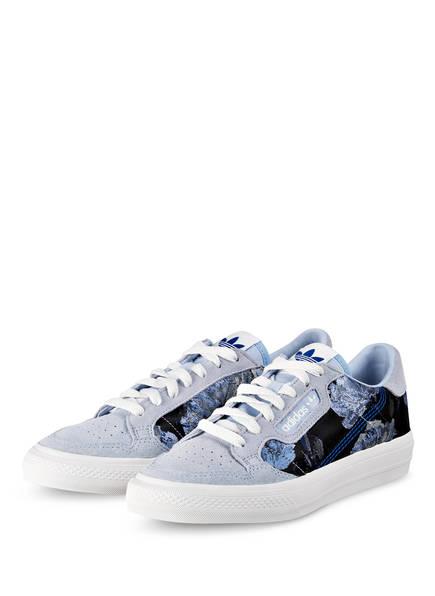 adidas Originals Sneaker CONTINENTAL VULC, Farbe: HELLBLAU/ DUNKELBLAU (Bild 1)