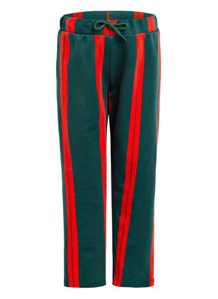 mini rodini Sweatpants, Farbe: GRÜN/ ROT (Bild 1)