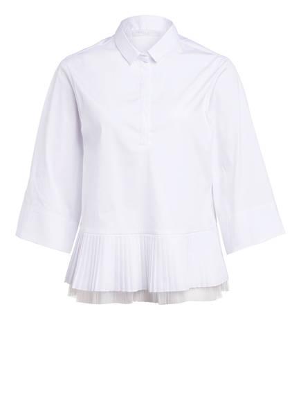 FABIANA FILIPPI Blusenshirt mit 3/4-Arm, Farbe: WEISS (Bild 1)
