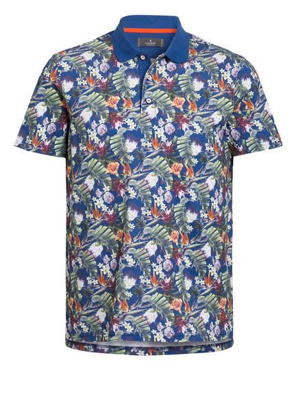 RAGMAN Piqué-Poloshirt, Farbe: BLAU/ WEISS/ GELB/ GRÜN (Bild 1)