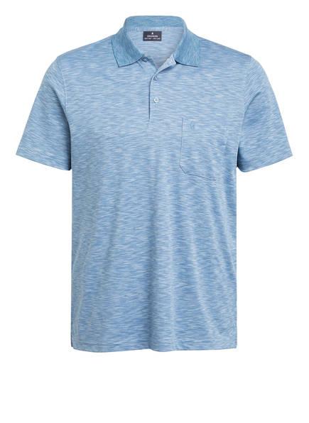 RAGMAN Jersey-Poloshirt, Farbe: HELLBLAU MELIERT (Bild 1)