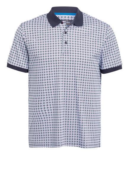 RAGMAN Jersey-Poloshirt , Farbe: DUNKELBLAU/ HELLBLAU / WEISS/ ROT (Bild 1)