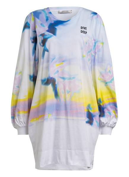 DOROTHEE SCHUMACHER Kleid mit Stickereien, Farbe: HELLBLAU/ HELB/ HELLROSA (Bild 1)