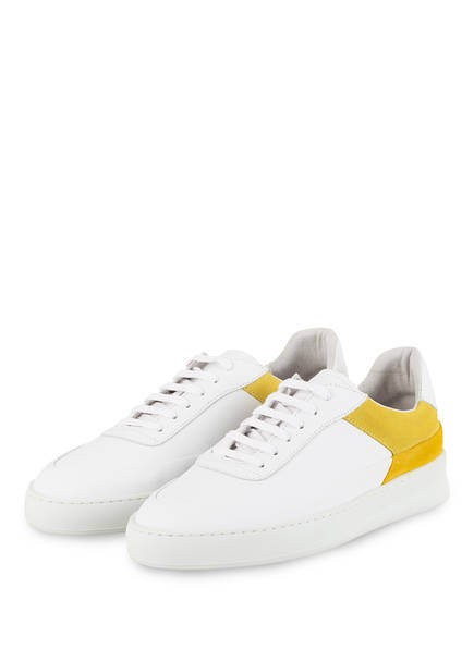 FILLING PIECES Sneaker MONO PLANE, Farbe: WEISS/ GELB (Bild 1)