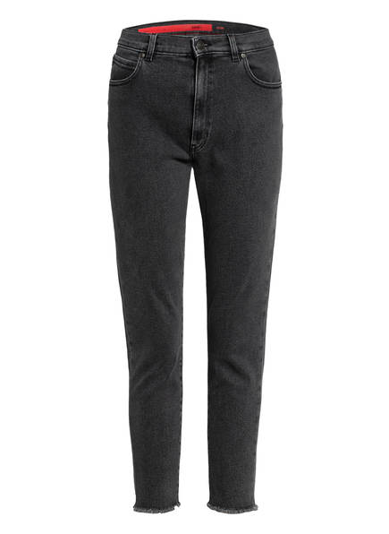 HUGO 7/8-Jeans, Farbe: 030 MEDIUM GREY	 (Bild 1)