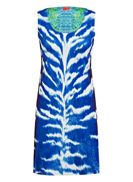 ANIMAPOP Kleid zum Wenden , Farbe: BLAU/ WEISS/ GRÜN (Bild 1)