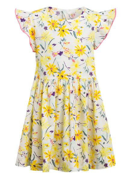 PETIT BATEAU Kleid, Farbe: WEISS/ GELB/ MINT/ LILA (Bild 1)