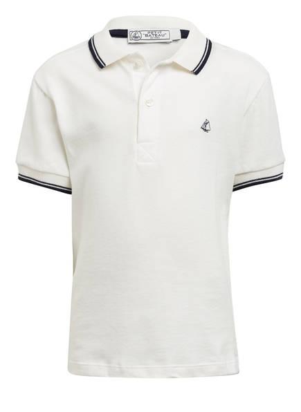 PETIT BATEAU Jersey-Poloshirt, Farbe: WEISS (Bild 1)