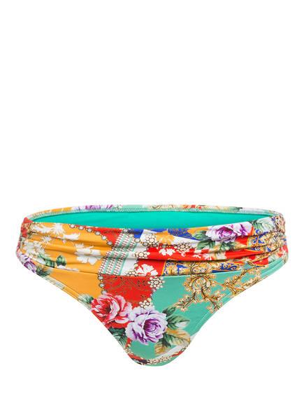 CYELL Bikini-Hose DOLCE VITA , Farbe: GRÜN/ WEISS/ LILA (Bild 1)