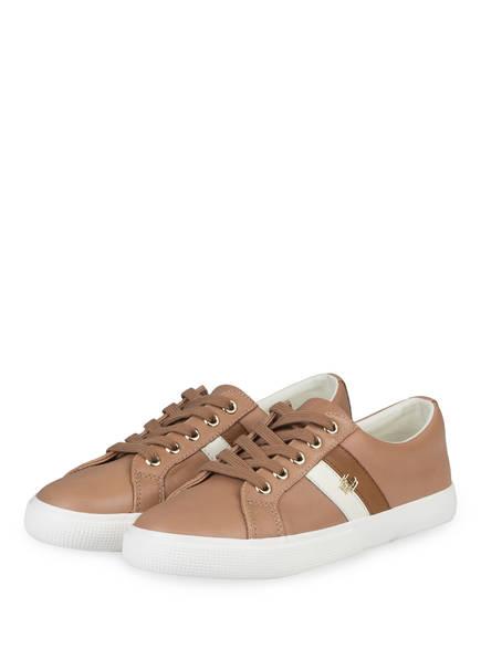 LAUREN RALPH LAUREN Sneaker, Farbe: CAMEL (Bild 1)