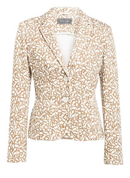 White Label Jerseyblazer , Farbe: CREME/ CAMEL (Bild 1)