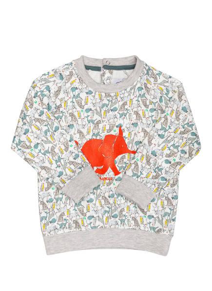 PETIT BATEAU Sweatshirt, Farbe: WEISS/ HELLGRAU/ BLAU (Bild 1)