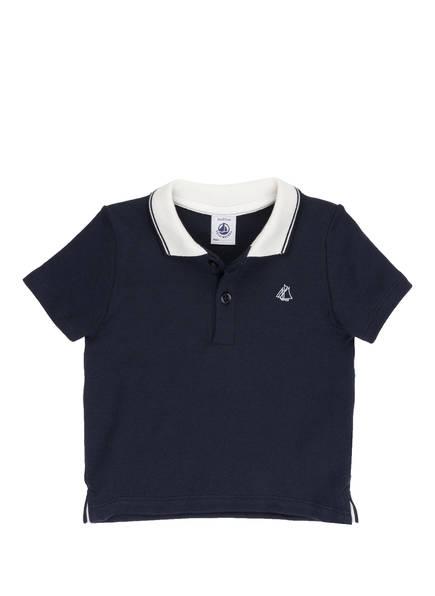PETIT BATEAU Poloshirt, Farbe: DUNKELBLAU/ WEISS (Bild 1)