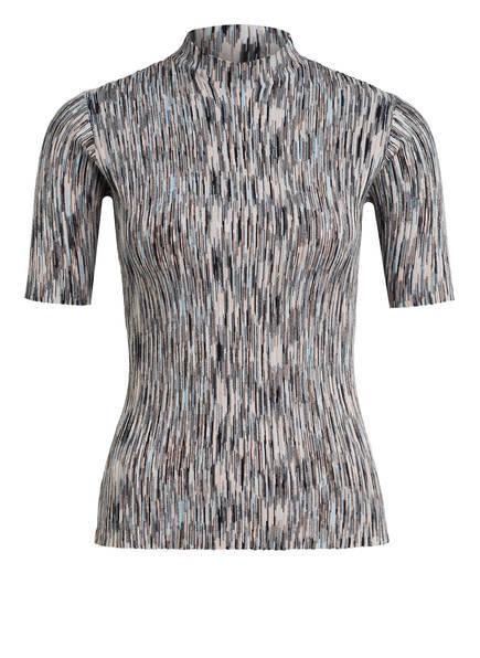 JUST FEMALE Strickshirt PIRA, Farbe: BLAU/ BEIGE (Bild 1)