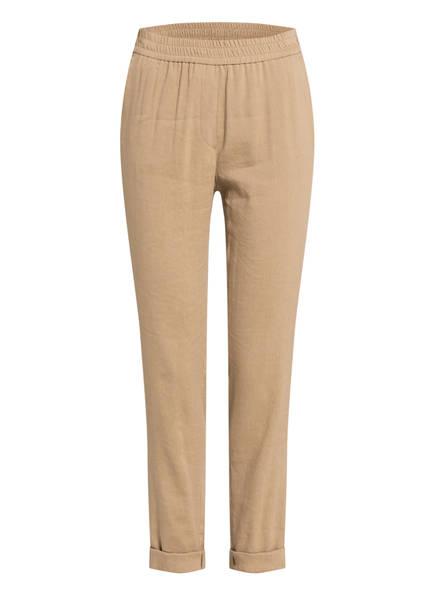 MARCCAIN Hose mit Leinen, Farbe: 624 CLAY (Bild 1)