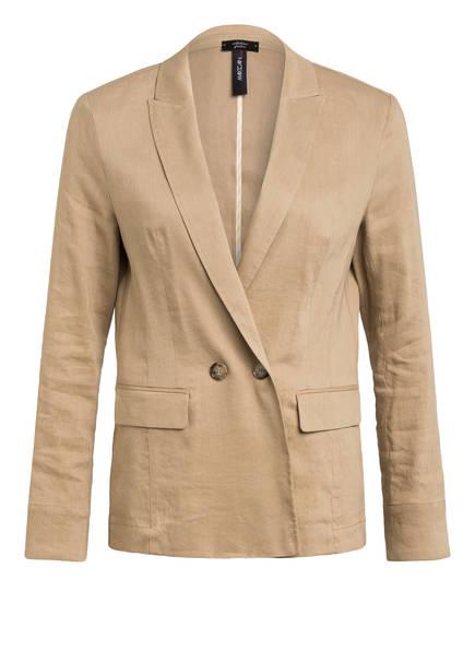 MARCCAIN Blazer mit Leinen, Farbe: 624 CLAY (Bild 1)