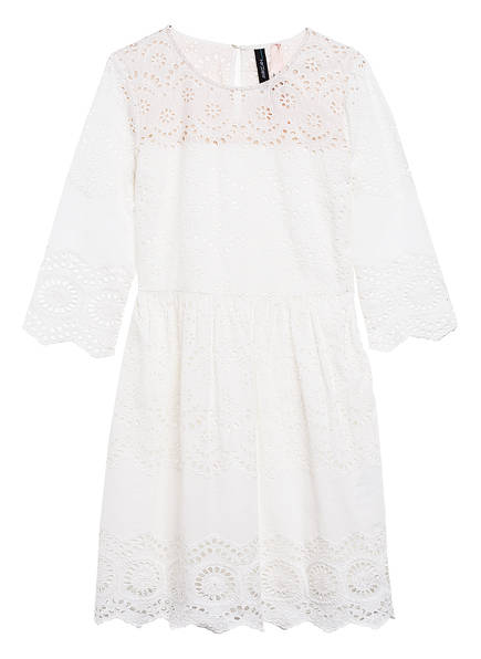 MARCCAIN Kleid mit Lochspitze, Farbe: 110 OFF WHITE (Bild 1)