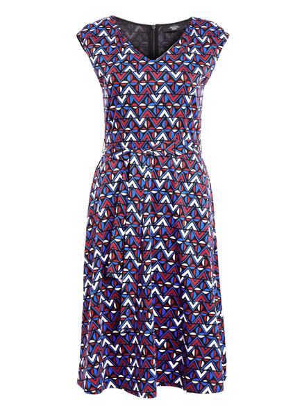 WEEKEND MaxMara Jerseykleid THOMAS, Farbe: SCHWARZ/ BLAU/ DUNKELROT (Bild 1)
