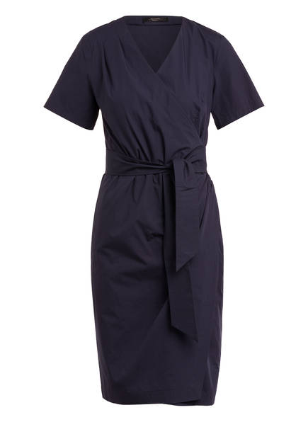 WEEKEND MaxMara Kleid FELINO in Wickeloptik , Farbe: DUNKELBLAU (Bild 1)