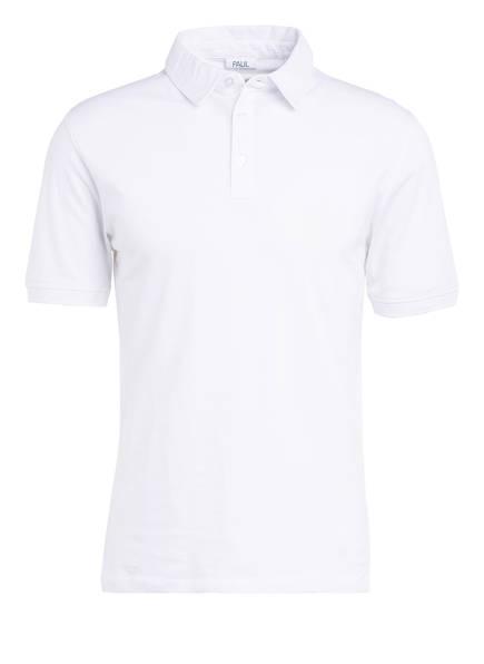 PAUL Piqué-Poloshirt, Farbe: WEISS (Bild 1)