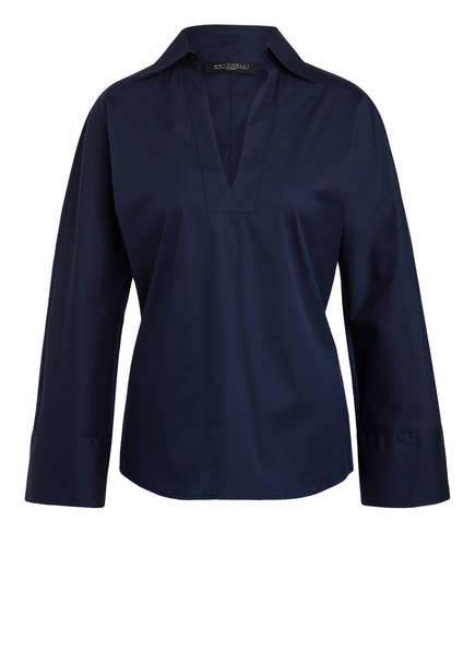 ANTONELLI firenze Bluse CALENDULA, Farbe: DUNKELBLAU (Bild 1)