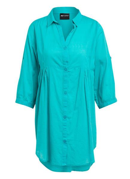 Hot Stuff Hemdblusenkleid, Farbe: TÜRKIS (Bild 1)