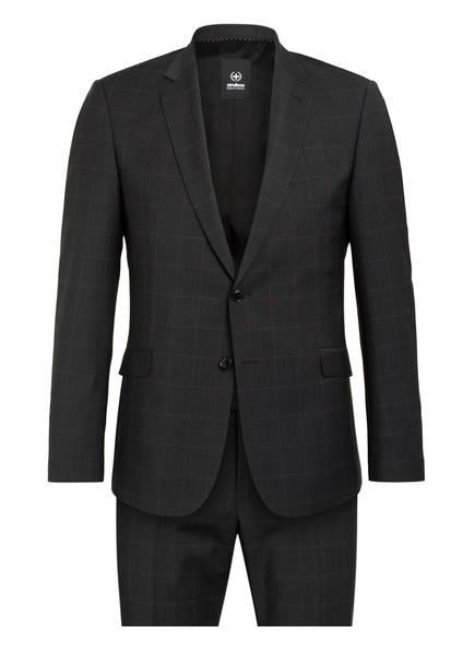 strellson Anzug ALLEN MERCER 2.0 Extra Slim Fit, Farbe: DUNKELGRAU KARIERT (Bild 1)