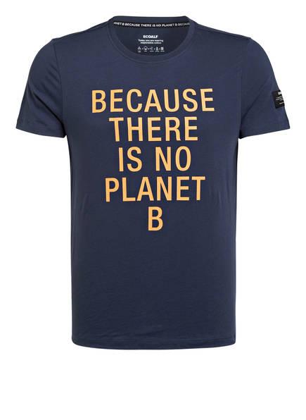 ECOALF T-Shirt NATAL CLASSIC BECAUSE, Farbe: DUNKELBLAU (Bild 1)