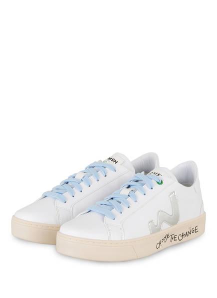 WOMSH Sneaker, Farbe: WEISS (Bild 1)