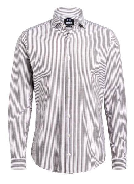 strellson Hemd SERENO Slim Fit, Farbe: TAUPE/ WEISS (Bild 1)