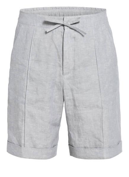 ZZegna Chino-Shorts aus Leinen, Farbe: HELLGRAU (Bild 1)
